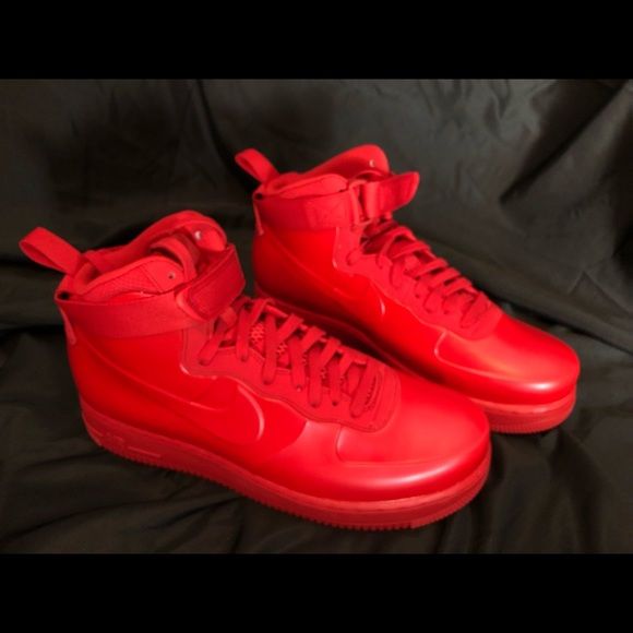 online store f7153 0e857 Air Force 1 Foamposite University Red